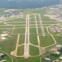 Photo taken at Terminal B by Jennifer C. on 2/18/2013