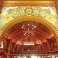 Photo taken at Cambridge Public Library by Joe D. on 12/17/2012
