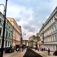 Photo taken at Улица Большая Дмитровка by Anton Z. on 9/8/2013