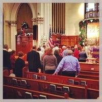 Photo taken at Emmanuel United Church Of Christ by Jonathan B. on 12/16/2012