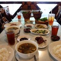 Photo taken at RM Dago Panyawangan by Stephanie M. on 12/25/2014