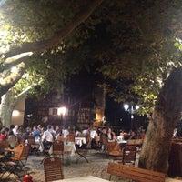 Photo taken at Place Benjamin Zix by Serdar on 9/16/2014