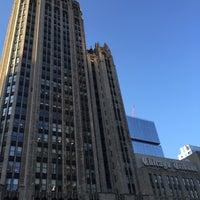 Photo taken at Tribune Tower by Juan B. on 8/16/2016