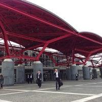 Photo taken at Makuhari Messe by Hiroto I. on 10/25/2012