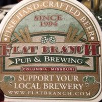 Photo taken at Flat Branch Pub & Brewing by Kim on 5/4/2013
