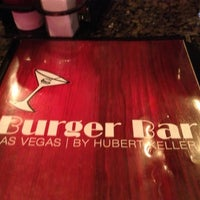 Photo taken at Burger Bar by MiniME on 10/26/2012