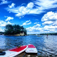 Photo taken at Hopkinton State Park by Matt E. on 8/10/2015