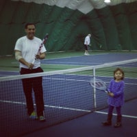 Photo taken at Rock Creek Tennis Center by Victor B. on 3/2/2014