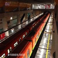 Photo taken at Metro Mixcoac (Líneas 7 y 12) by Chac G. on 2/2/2013