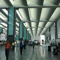 Photo taken at Kempegowda International Airport (BLR) by Nithin R. on 2/5/2013