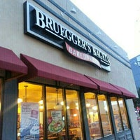 Photo taken at Bruegger's Bagels by Laurie J. W. on 2/26/2013