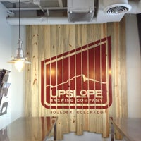 Photo taken at Upslope Brewing Company by Michael B. on 1/14/2013