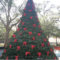 Photo taken at Bienville Square by cristina c. on 11/21/2015