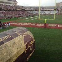 Photo taken at Bobcat Stadium by Ben N. on 10/13/2012