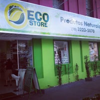 Photo taken at Eco Store Produtos Naturais by Lincoln G. on 3/21/2013