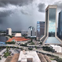 Photo taken at Hyatt Regency Jacksonville Riverfront by Sean S. on 6/21/2013