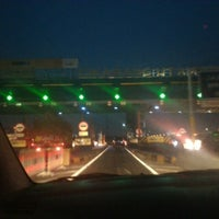 Photo taken at Gerbang Tol Cikarang Utama by Wiwi A. on 9/24/2015
