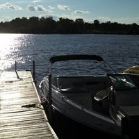 Photo taken at Johnny's On The Lake by Terri B. on 8/3/2013