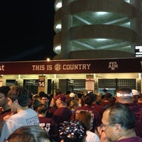 Photo taken at Kyle Field Zone Plaza by Robin J. on 9/14/2013