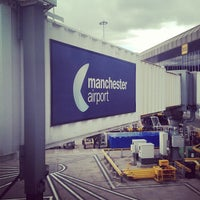 Photo taken at Manchester International Airport (MAN) by Khalid on 5/23/2013