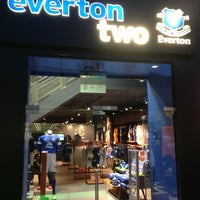 Photo taken at Everton Two Official Club Store by John C. on 1/24/2013