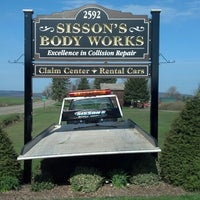 Photo taken at Sisson's Body Works by Nathan C. on 5/1/2013