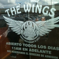 Photo taken at The Wings by Noel D. on 12/2/2012