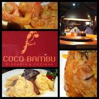 Photo taken at Coco Bambu Pizzaria & Cozinha by Ralph P. on 1/13/2013