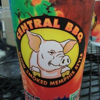 Photo taken at Central BBQ by Robert E. on 7/29/2013