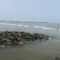 Photo taken at Pantai Alam Indah (PAI) Tegal by Yulita V. on 10/25/2014