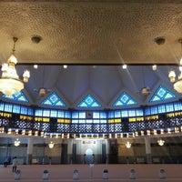 Photo taken at Masjid Negara (National Mosque) by Jonghyun C. on 12/31/2012