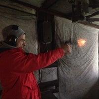 Photo taken at Magnum Shooting Range by Önder A. on 1/4/2014