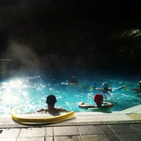 Photo taken at Ròseo Hotel Euroterme by Hotel Belmar C. on 10/1/2012