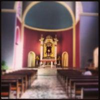 Photo taken at Templo Votivo do Santíssimo Sacramento by Daniel A. on 6/28/2013