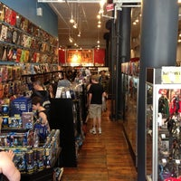 Photo taken at Forbidden Planet by Ron D. on 5/31/2013