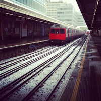 Photo taken at Hammersmith London Underground Station (Circle and H&C lines) by Ming Y. on 1/18/2013