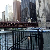 Photo taken at Chicago Water Taxi (Michigan) by Lulu on 8/4/2013