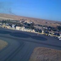Photo taken at Aéroport de Hassi Messaoud (HME) by Dou B. on 12/5/2012