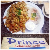 Photo taken at Prince Lebanese Grill by Suzanna G. on 10/16/2012