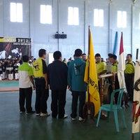 Photo taken at GOR Mampis Rungan by Budi v. on 6/28/2013