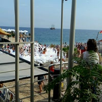 Photo taken at Beach Bar Limra by Fatih K. on 9/14/2016