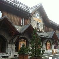 Photo taken at Casino Barrière de Megève by JP G. on 11/11/2012