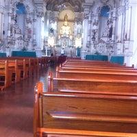 Photo taken at Igreja do Rosário by Cleverson G. on 2/13/2014