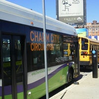 Photo taken at Charm City Circulator Purple Route - Penn Station (Southbound) - #311 by Timothy S. on 10/11/2012