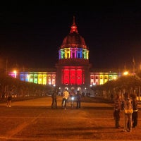 Photo taken at Civic Center Plaza by Martin M. on 6/27/2013