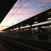Photo taken at Stazione di Mantova by Elisa R. on 1/5/2013