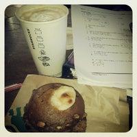 Photo taken at Starbucks by Krystle B. on 9/23/2012