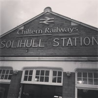 Photo taken at Solihull Railway Station (SOL) by Ben W. on 3/30/2013