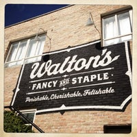 Photo taken at Walton's Fancy and Staple by Asie M. on 3/10/2013