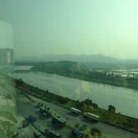 Photo taken at Four Points by Sheraton Shenzhen by Dow W. on 1/11/2013